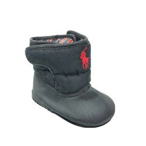 Polo Ralph Lauren Soft Boots Infant Baby Size 1